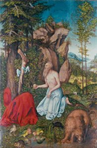 biber_cranach_hieronymus_wueste_1525