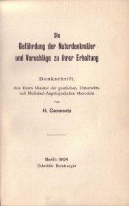conwentz-die-gefaehrdung-der-naturdenkmaeler-und-vorschlaege-zu-ihrer-erhaltung-1904