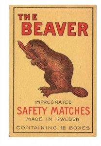 schwedisches-streichholzetikett-the-beaver