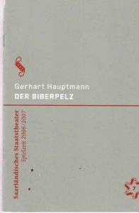 programmheft-der-biberpelz-saarlaendisches-staatstheater-2006