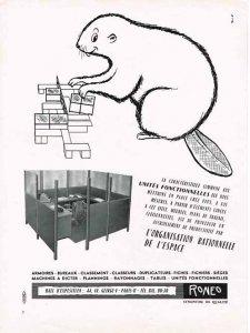Biber_Werbung_Roneo_meubles_1958