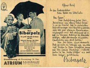 Biberpelz_Urauffuehrung_Atrium_1937_1_web