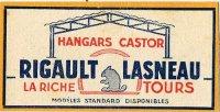 Biber_Werbung_Frankreich_Hangars_Castor_1950_web